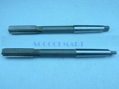 1pcs HSS H7 Machinery Longer Taper Shank Straight Chucking Reamers 25x400mm цена