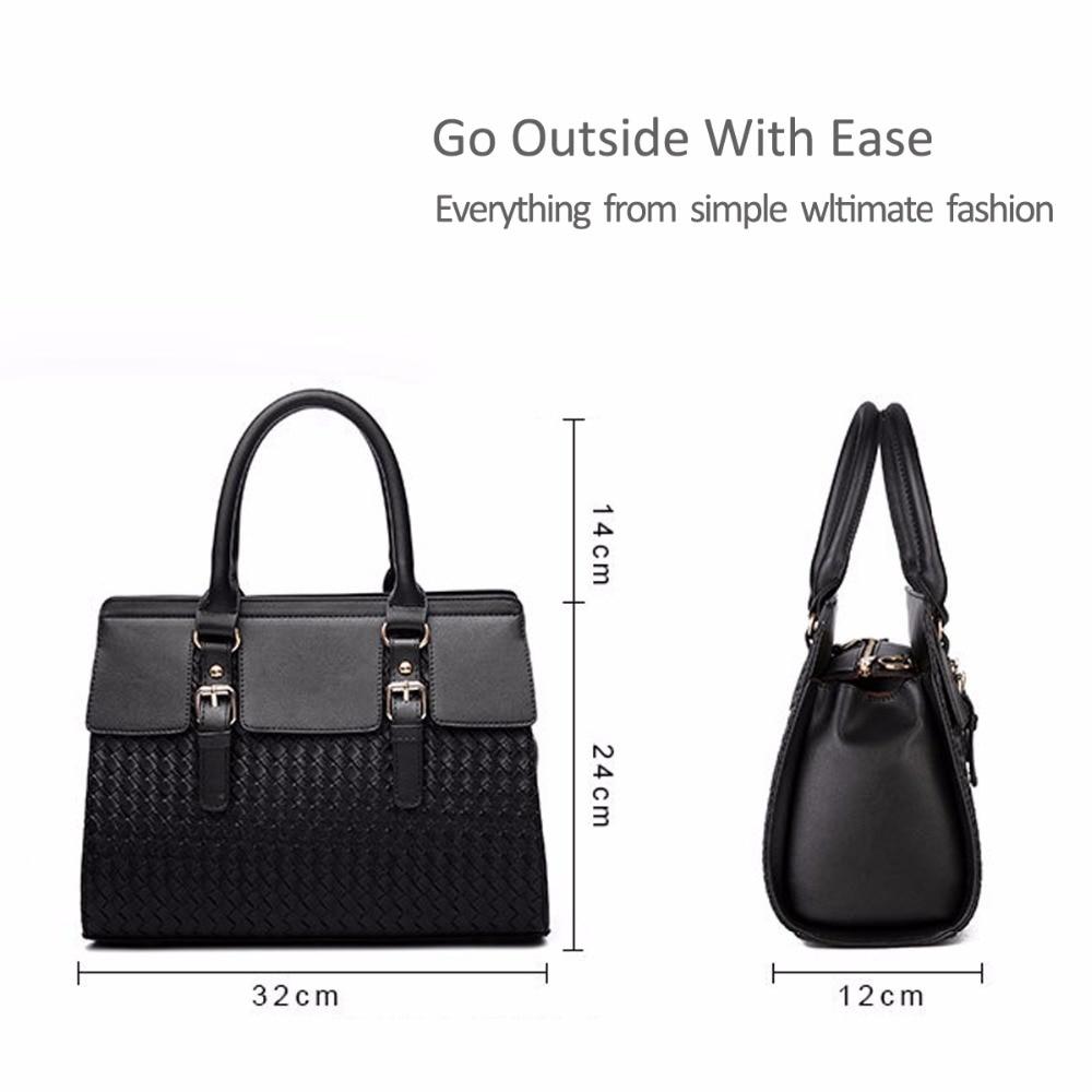 75860e6fa NICOLE&DORIS Women's Handbags Boutique Stylish Handbag Female Messenger  Shoulder Purse Tote Casual Work Bag Satchel -in Top-Handle Bags from  Luggage & Bags ...