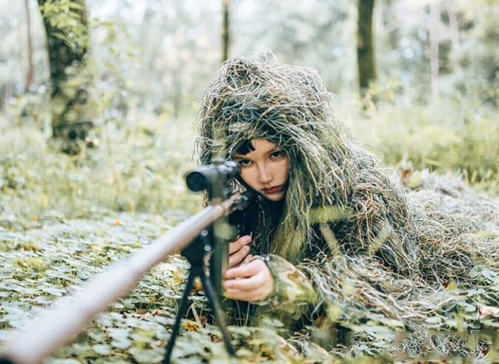 Image 5 - Durable Breathable Mesh Lining Jungle Camouflage Net Hunting Sniper Flapping Clothing Scouting Woodland HandMade Burlap Camo Net-in Blind & Tree Stand from Sports & Entertainment