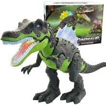Dinosaur large size Electronic Pets Walking Robot Toys Roaring Swinging Flashing Lighting Electric Toys Action Figures