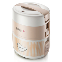 Bear 1.6L Rice Cooking Electric Lunch Box Double Ceramic Layer