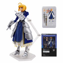 15cm Fate Stay Night Saber Armor PVC Action Figure Toys FATE The Holy Grail War Anime Cartoon Collection Model Toy For Kids anime figure 22cm fate stay night ccc wedding dress ver saber bride pvc action figure collectible model toy gift