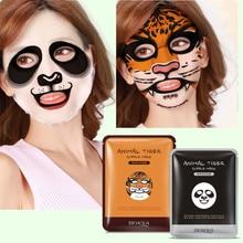BIOAQUA 1 pcs Skin Care Sheep/Panda/Dog/Tiger Facial Mask Moisturizing Cute Animal Face Care Masks
