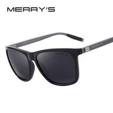MERRY'S Unisex Retro Aluminum Sunglasses Polarized Lens Vintage Sun Glasses For Men/Women S'8286