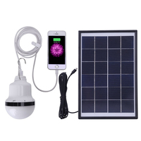 Solar Lamp Powered Portable Led Bulb Lamp Solar Energy Lamp Lighting Solar Panel Camp Night Travel