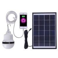 Solar Lamp Powered Portable Led Bulb Lamp Solar Energy Lamp Lighting Solar Panel Camp Night Travel