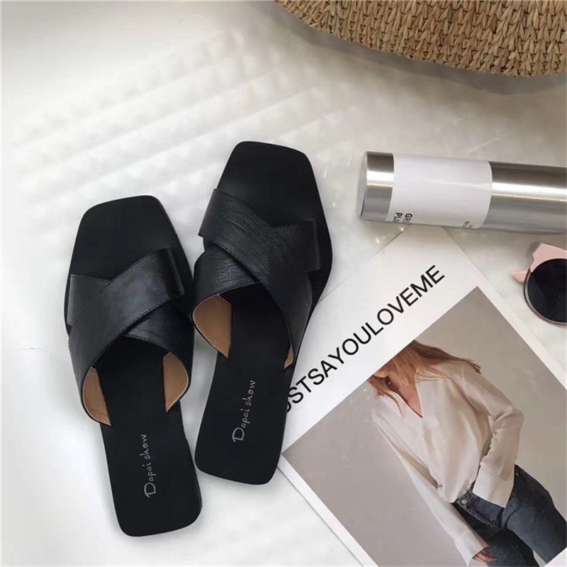 Новинка 2018 г. женские шлепанцы вьетнамки пляжные сандалии Модные дамские босоножки Летняя женская обувь на плоской подошве без задника