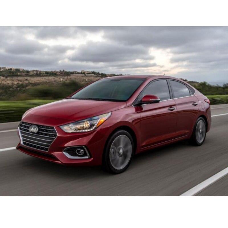 Auto Car Led Interior Light For 2018 Hyundai Accent Elantra GT Elantra Ioniq Sonata Tucson Dome Map Trunk Bulbs 10pc/12pc