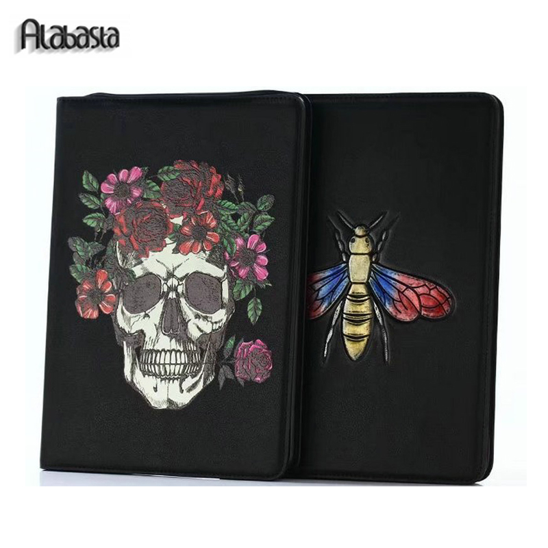 Alabasta Fundas Case for iPad Air 2 Leather Cover Case Stand Wake Sleep Smart Magnet Soft Wallet Pouch Shell Stylus for iPad6 alabasta cover case for apple ipad air1