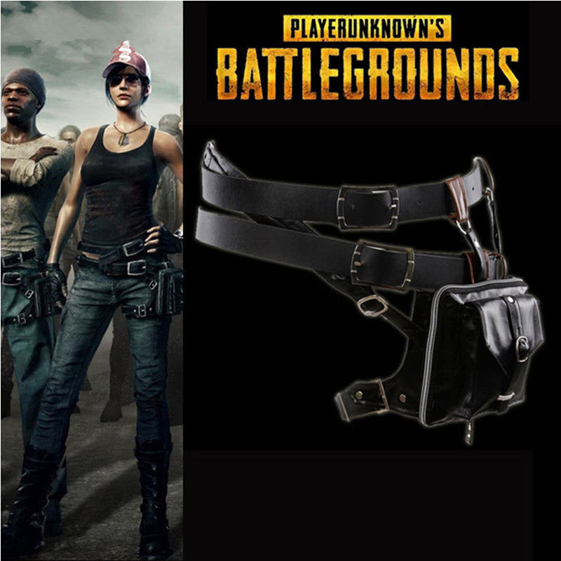 Playerunknown'S Battlegrounds Cosplay Waist Bag Outdoor Utility Belt Package New props