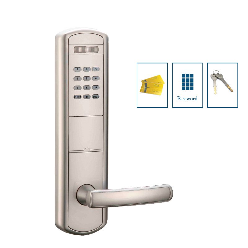 Numeric keypad door lock electric keyless entry lock with ID card reader usb pos numeric keypad card reader white page 2