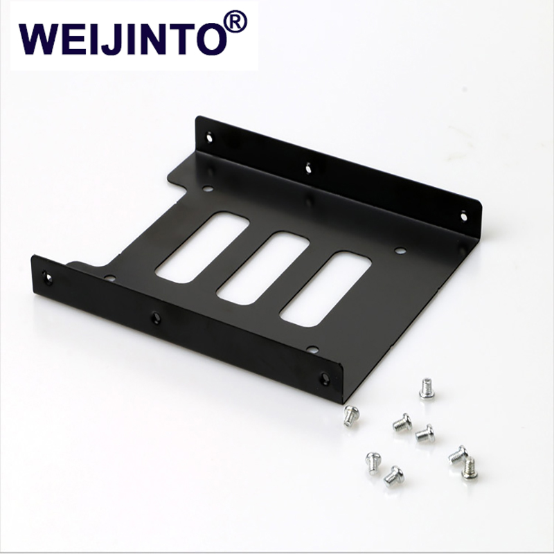"Tray T 2.5/"" to 3.5/"" Bay SSD Metal Hard Drive HDD Mounting Bracket Adapter Dock"