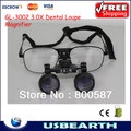 Frete grátis! Gl-3002 3.0X Dental lupa lupa, Binocular lupa, Lupas lentes para odontologia / Surgical