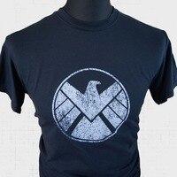 Agents Of Shield T Shirt Marvel Avengers Captain America Iron Man Hulk TV Film B Summer