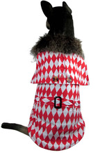 New Arrival Eu Design Fur Neck Pet dogs Coat Free Shiping By CPAM Medium Large Dogs Clothing