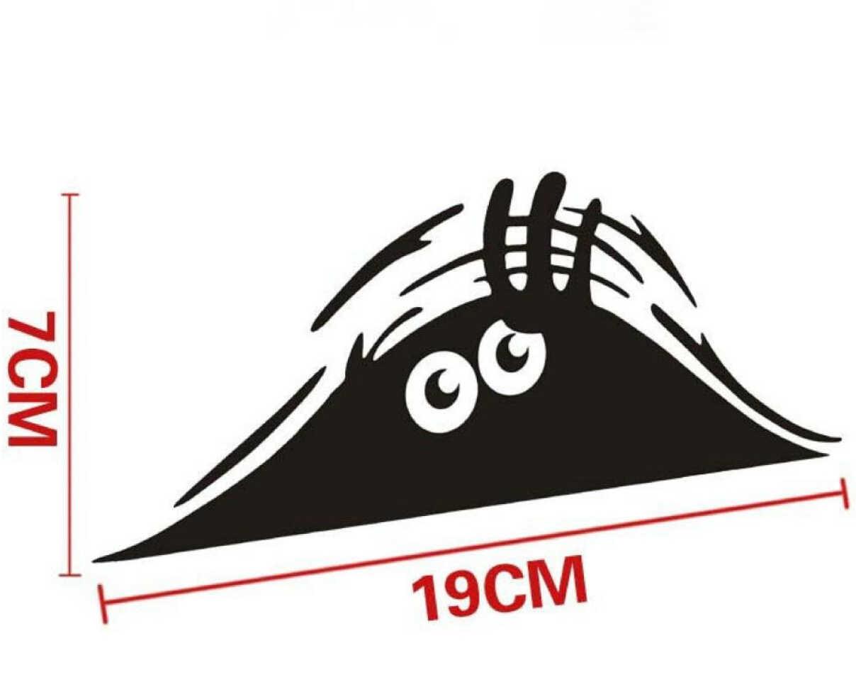 Espreitar Monstro Adesivo de vinil do decalque Do Carro para renault megane megane 3 suzuki sx4 mazda 2 peugeot 508 opel corsa d prius bmw