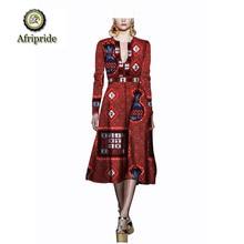 African women dress 2018~2019 pure cotton ankara print dashiki bazin riche  new style fabric fashion AFRIPRIDE S1825047
