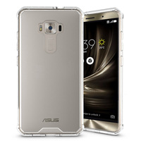 Slim-Fit Shockproof PC+TPU Transparent Thin Crystal Clear hard Case for ASUS ZenFone 3 ZE552KL (5.5 inch)