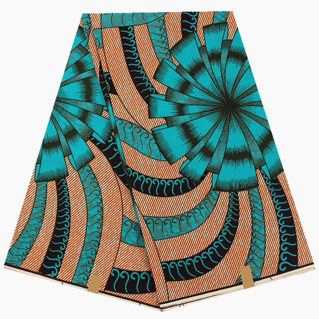 Hot Fashion design high quality african printed fabric wax hollandais wax real dutch wax for wholesale price 6yard/lot YA27A-3