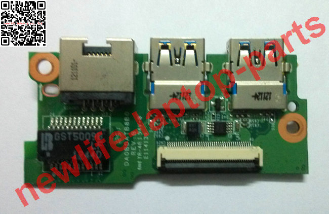 P75 USB LAN BOARD DA0BDATB8B0 3PBDALB0040 test good free shipping