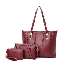Bohemian Women Soft PU Leather Handbags 2017 New Brand Ladies Shoulder bags Tote Bag Female Messenger Bags Composite Bag wallet