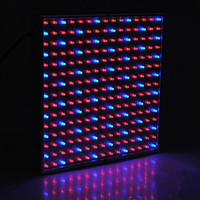 Hydro 14W LED Grow Panel Light 225 LED Grow Light Red & Blue for Indoor Garden Plants