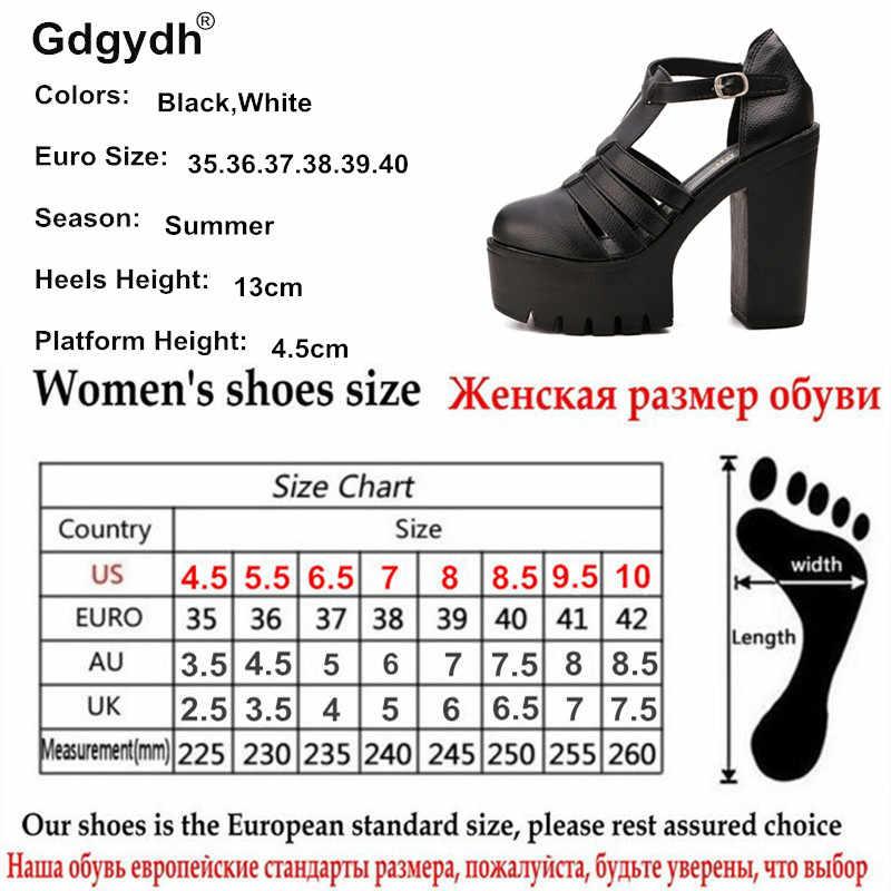 Gdgydh ร้อนขาย 2020 ฤดูร้อนใหม่แฟชั่นรองเท้าแตะผู้หญิงสุภาพสตรีรองเท้าจีนสีดำสีขาวขนาดยูโร 42 โรมัน