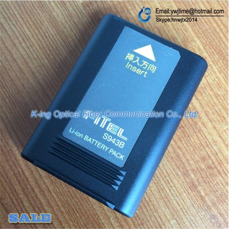 DHL Frete Grátis Original Furukawa S943B bateria para S177 S178 Fitel S178A S121/splicer da fusão S122 1 PCS