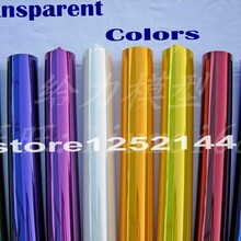 5Meters/Lot Tranparent Colors Hot Shrink Covering Film For R