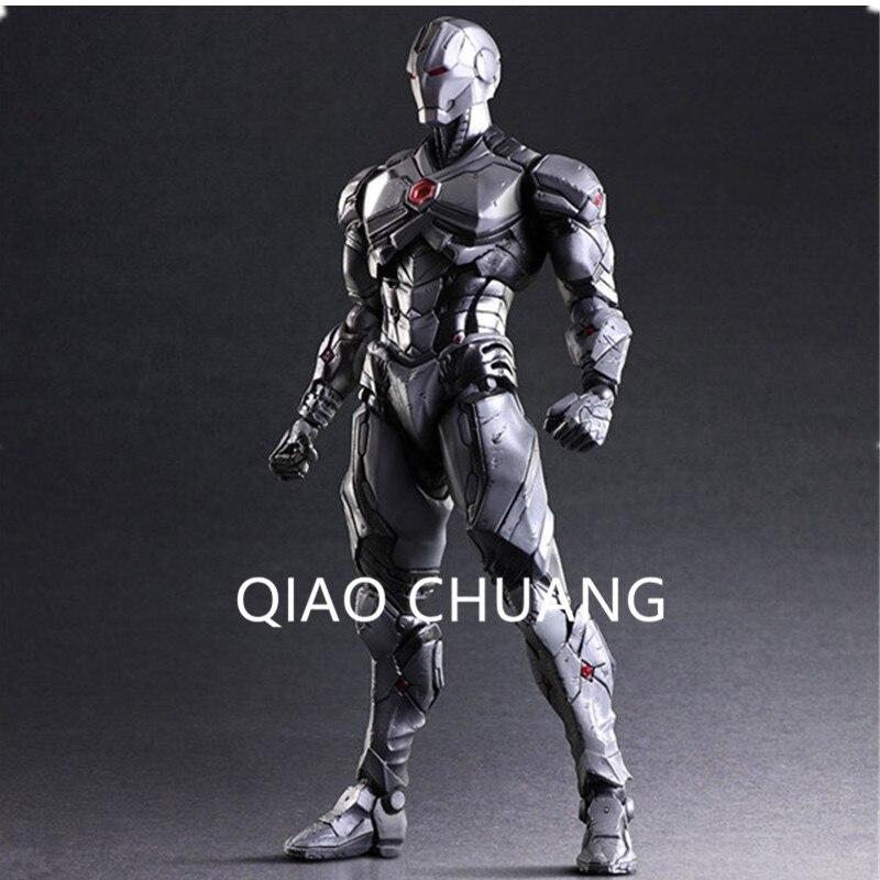 27CM DC Cartoon Avengers:Infinity War Superhero Tony Stark Iron Man Robert Downey Jr Grey Limit Action Figure Model Doll G52 чехол для iphone 5 printio iron man robert john downey jr