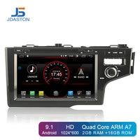JDASTON 8 Android 9.1 Car DVD Player For HONDA JAZZ FIT 2014 2015 2016 Multimedia GPS Navigation 2 Din Car Radio Stereo Audio