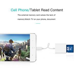 Image 3 - 2019 nowy USB 3.1 typ C USB C na SD karta sdxc aparat cyfrowy adapter do czytnika kabel do macbooka telefon komórkowy Samsung Huawei Xiaomi