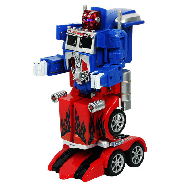New Remote Control 2 In 1 Robot Car Toys Action Figures Robot Truck