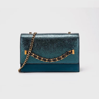 IMIDO Hong Kong new fashion luxury fashion trend semi precious stone clamshell sliver sequin bag