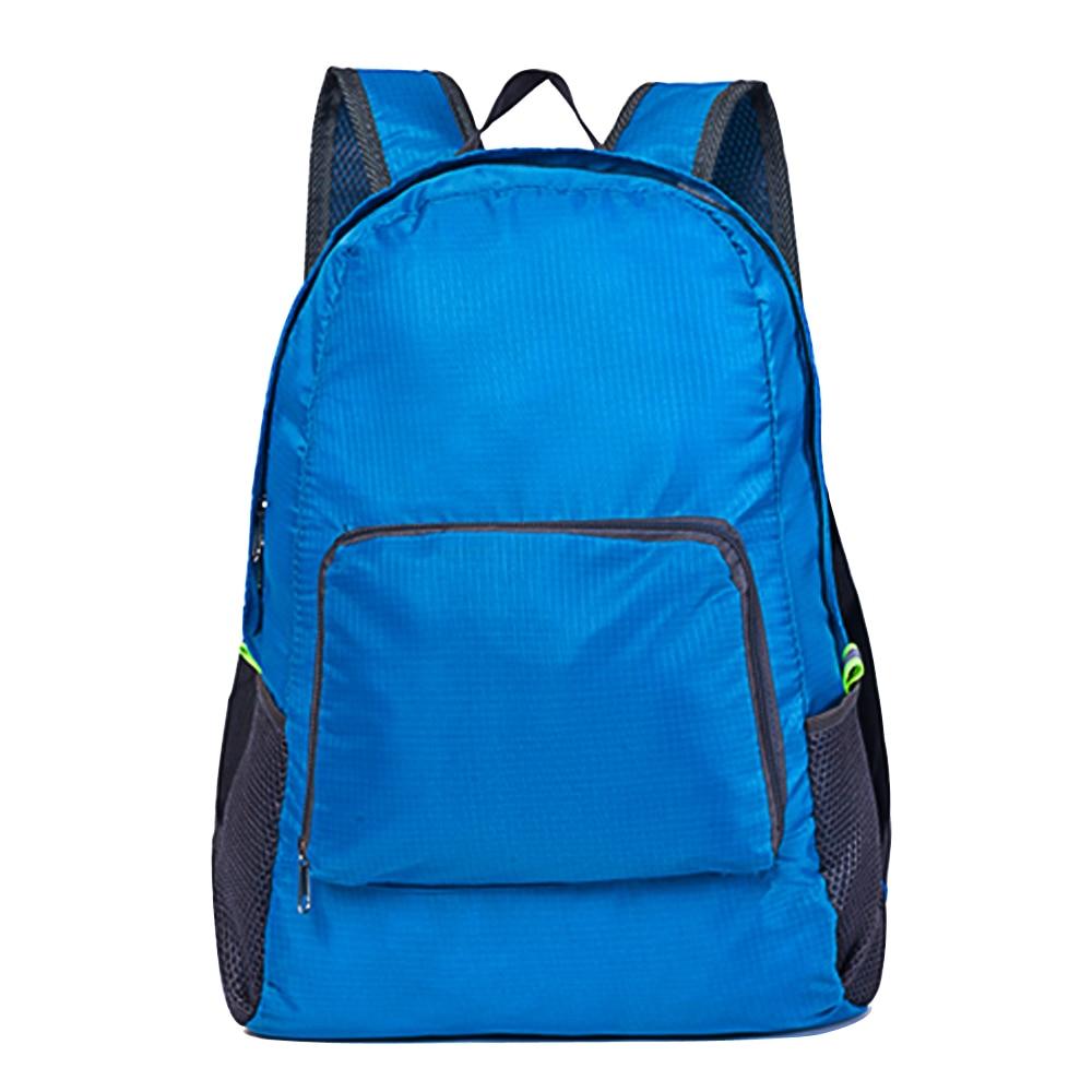 b7c8db483e6b Горячая Рюкзак Унисекс Путешествия Отдых Пеший Туризм сумка складной  Водонепроницаемый сумка