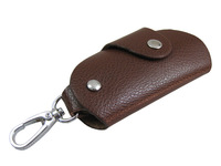 Fashion Gifts Keys Holder Organizer Buckle Cow Leather Key Wallet Case Quality Car Keychain For Women