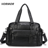 VORMOR PU Leather Bag Business famous designer bags Men Handbags Men's Travel Bags Laptop Briefcase Bag for Man