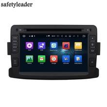 Octa Core 1 din 7″ Android 6.0 Car Audio DVD GPS for Renault Duster Logan 2011-2016 4GB RAM Radio Bluetooth WIFI USB 32GB ROM