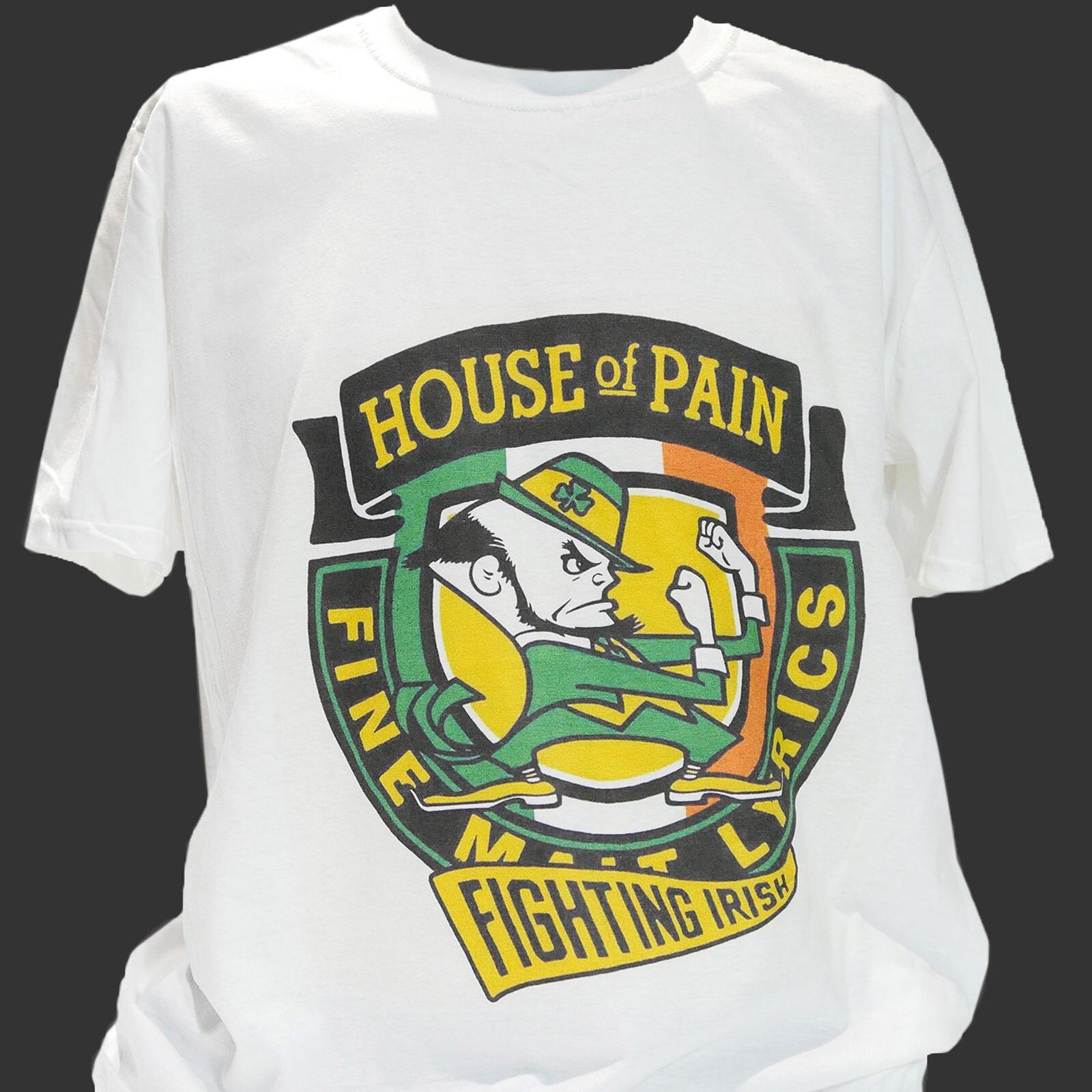 HOUSE OF PAIN FINE MALT LYRICS EVERLAST DJ LETHAL CYPRESS HILL NEW WHITE T-SHIRT