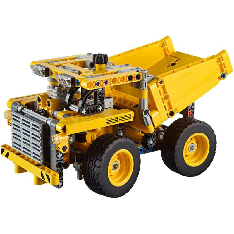 Hot Sale Mining Truck Model Blocks Compatible With Legoing Batman Technic LMKJ Bricks Birthday Gifts Block Toys For Children hot sale 1000g dynamic amazing diy educational toys no mess indoor magic play sand children toys mars space sand