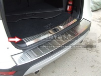 JGRT Car Styling Stainless Steel Inside Rear Bumper Sill Protector For 2013 2014 2015 Ford Kuga