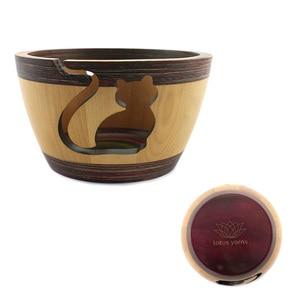 Image 5 - Recipiente de lana de loto para tejer