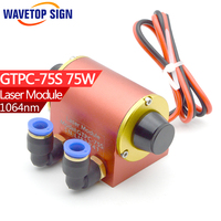 Modulo laser GTPC-75S 75 w GTPC-75S Yag diodo laser 75 w JiTai YAG Modulo Laser 75 w GTPC-75S il connettore 90 gradi