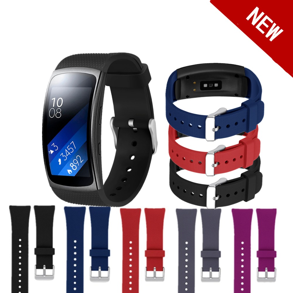 EIMO sport silicone strap For Samsung Gear Fit 2 Pro/Fit 2 band Smart Watch replacement bracelet for Samsung Gear Fit2 Pro/Fit2 картаев павел samsung gear fit 2 apple снизит цены заряд смартфона влияет на щедрость