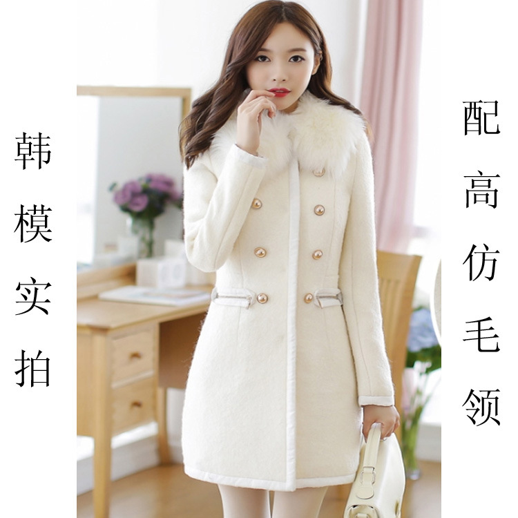 Winter white coats for ladies – Novelties of modern fashion photo blog