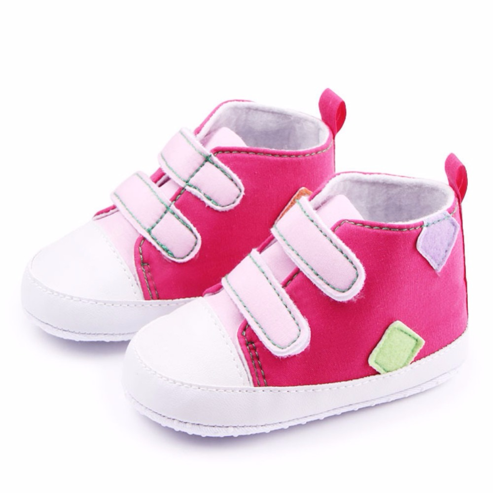 2018 New Baby Boys Girls Shoes Toddler Infants Antislip Soft Sole First Walkers Shoe