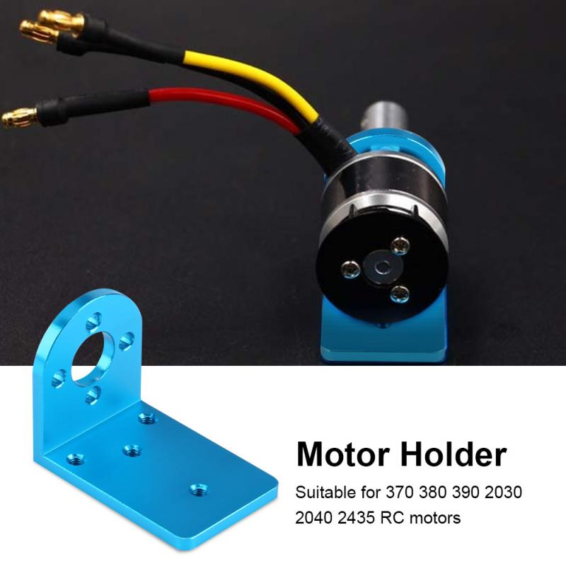1Pcs Metal Motor Holder L Shape Motor Mounting Holder Seat Base High Quality For 370 380 390 2030 2040 2435 Motors RC Accessory