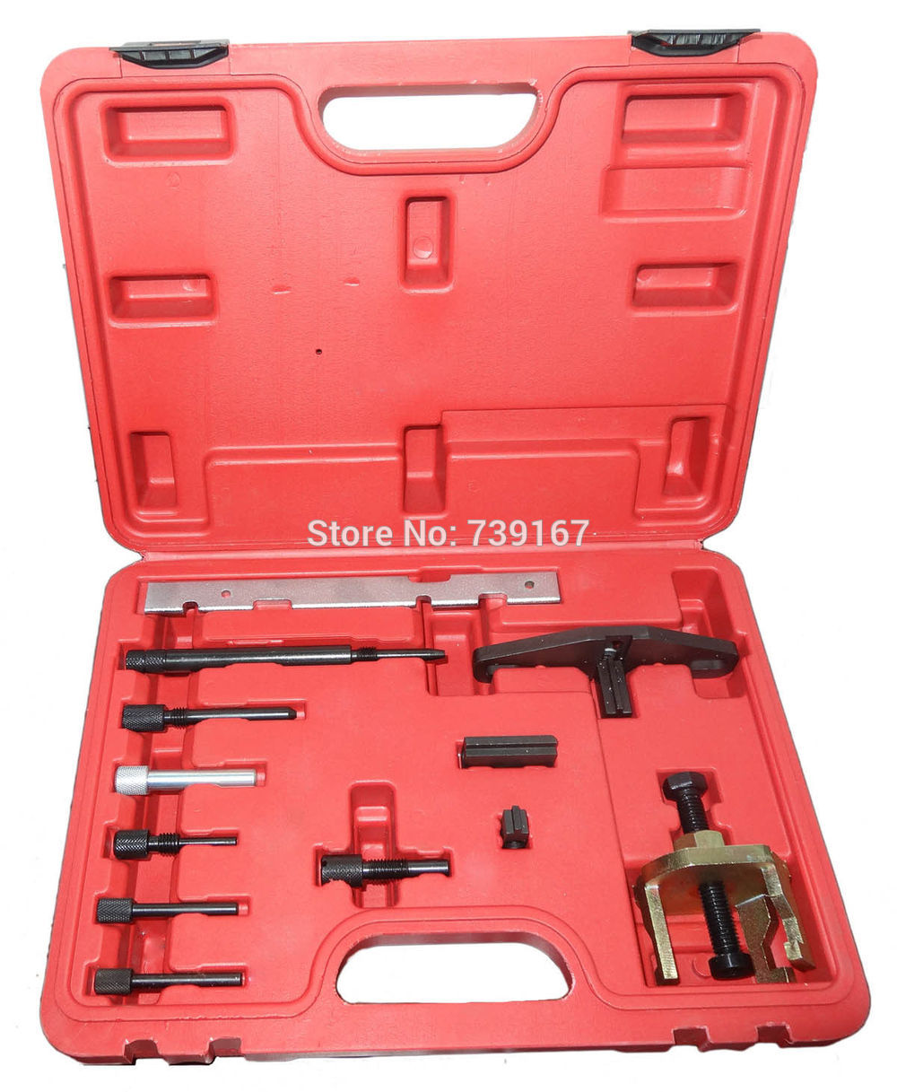 Engine Timing Camshaft Locking Setting Tool Kit For Ford Mazda Focus Sierra Mondeo ST0092 engine setting locking combination kit master engine timing tool set fits for ford 1 4 1 6 ti vct tdci 1 8 2 0 16v 2 2 tdci
