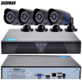 GADINAN ONVIF HD CCTV System 1080P 8CH NVR and 4PCS 720P IP Outdoor Video Surveillance Security Camera System NVR Kit