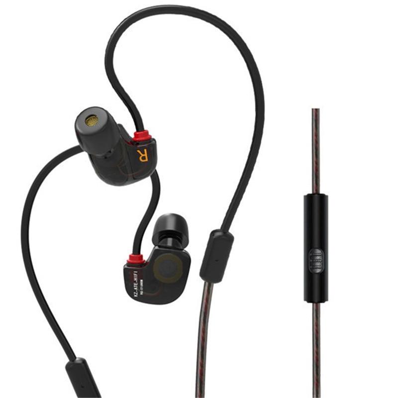 KZ ATE-S Super Bass In Ear Earphones 3.5mm Stereo Sports Earphones HIFI Earbuds Noise Isolating Earphones with Mic